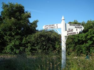 WoodchurchRoadSign